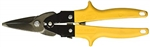 MALCO M2003 Aviation Snips -Ergonomic Grip (Yellow) Straight, Left, Right Cutting