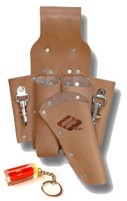 Mar Mac H001 5 Pockets Holster W Snap Hooks For Pliers
