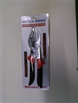 Miter Boss02 Miter- Boss02 Chamfer Cutter Quick & Precise Miter Cuts with Grip Handle. Miter Jaws