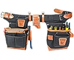 Occidental 9850 Adjust-to-Fit™ Fat Lip™ Tool Bag Set - Black
