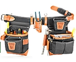 Occidental 9850LH Adjust-to-Fit™ Fat Lip™ Tool Bag Set - Black - Left