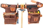 Occidental 9855 Adjust-to-Fit™ Fat Lip™ Tool Bag Set - Cafe