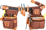 Occidental 9855LH Adjust-to-Fit™ Fat Lip™ Tool Bag Set - Cafe - Left Handed