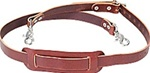 Occidental Leather 1019 All Leather Shoulder Strap. Made in U.S.A.