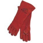 "REVCO BLACK STALLION 101R-18 Premium Side Split Cowhide Stick Welding Gloves - 18"" ( Long)"
