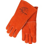REVCO Black Stallion 110 Standard Split Cowhide Stick Welding Gloves. Size Medium, Large, XLarge - Available