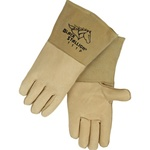 REVCO 111P LH CushionCore Quality Grain Pigskin Stick Welding Gloves.( Left Hand Side Glove Only)