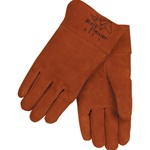 REVCO  24C Premium Side Split Cowhide MIG Welding Gloves - Short Cuff