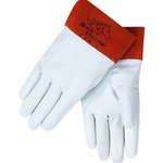 REVCO 24K Premium Grain Kidskin TIG Welding Gloves - Short Cuff