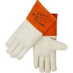REVCO 25 Quality Grain Cowhide MIG Welding Gloves - Long Cuff