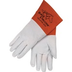 REVCO 25D Premium Split Deerskin TIG Welding Gloves - Long Cuff