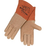 REVCO 27 Premium Grain Pigskin MIG Welding Gloves - Long Cuff