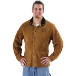 "REVCO 30WC Quality Side Split Cowhide Welding Coat - 30"". (Make sure to select appropriate size)"