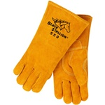 REVCO 550 CushionCore Quality Side Split Cowhide Stick Welding Gloves