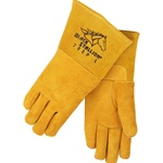 REVCO 795P Premium Reversed Grain Pigskin Stick Welding Gloves