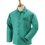 "REVCO F9-30C BLACK  STALLION F9-30C 9 oz. FR Cotton Coat - 30"" Green (Size: M- 6XL)"