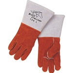 REVCO 106 Premium Side Split Cowhide Stick Welding Gloves - Rigid Cuff