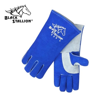 REVCO 320 Black Stallion CushionCore Quality Side Split Cowhide Stick Welding Gloves