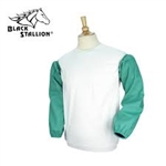 "REVCO BLACK STALLION F2 - 23S TruGuard™ 200 FR Cotton 23"" Sleeves - GREEN ( ONE PAIR)"