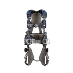 DBI SALA 1113124 ExoFit NEX™ Construction Style Positioning HarnessAluminum back D-ring, belt with pad and side D-rings, locking quick connect buckle leg straps, comfort padding (Size Small, Medium, Large, XLarge, 2XLarge)