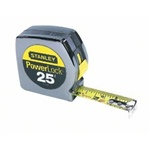 Stanley 33-425 Tape Measure 25' Powerlock 25-Foot by 1-Inch